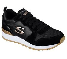 SKECHERS Sneakers Woman OG 85 Goldin Gurl Black, Suede Air-cooled Memory Foam