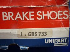 Classis Mini Unipart Brake Shoes GBS 733 Set Of 4 NOS
