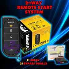 VIPER 4606V 2016 MODEL 1 WAY CAR AND TRUCK REMOTE START VIPER + DBALL2 4606V