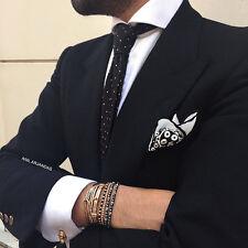 Men Women New Style Anil Arjandas Bracelet 18k Gold Filled Pave Stretch Bracelet