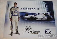 2014 J.R. Hildebrand signed Preferred Freezer Chevy Indy 500 Indy Car postcard