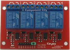 4 Channel 5v relay Relay Shield Module opto-isolated High Low Trigger 10Amp