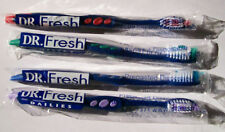 1440  Dr Fresh Prepasted Toothbrushes disposable wrapped