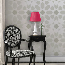Moroccan Wall Stencil Stella - Reusable stencil patterns for DIY decor