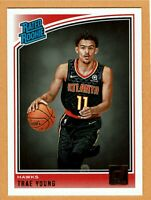 2018-19 Panini Donruss Trae Young Rookie #198 Atlanta Hawks RC Rated