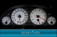 Tachoscheiben für BMW 300 kmh Tacho E39 Benzin Weiss 3387 Tachoscheibe km/h X5