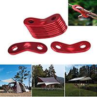 Tent Rope Fastener  Guyline Tensioner Camping Accessories  5pcs Rope Adjuster