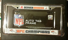 REDUCED!! Officially Licensed NFL Denver Broncos 2013 AFC Champion License Frame