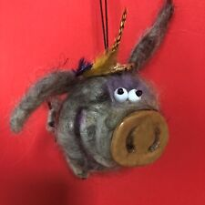 Flying Pig with a dollar sign tail, Good Luck Charms Symbol of the 2019 year
