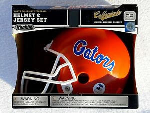 Florida Gators Youth Replica Football Helmet & Jersey Set Official Licensed NEW