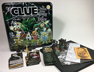 Clue The Twilight Zone Tower of Terror Game Disney Theme Park Edition COMPLETE!