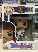 ⭐️Jimi Hendrix- WOODSTOCK #54 Funko Pop Vinyl POP ROCKS + Pop Protector⭐