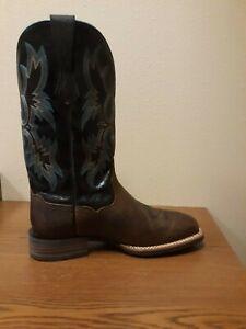 Mens Ariat Tombstone Cowboy Boot