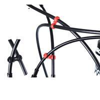10pcs Clips de Vélo VTT Crochet Réglable Boucle de Fixation pour Câble de Frein