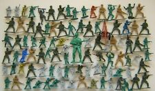 MIXED LOT BUNDLE TOY PLASTIC ARMY MEN MILITARY SOLDIER FIGURE SOME VINTAGE