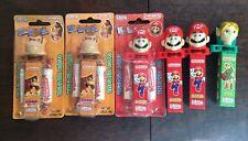 Nintendo Klik Mario - Candy Expired!! 3 New And 3 Used.