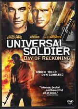 Universal Soldier: Day of Reckoning DVD 2013 Jean-Claude Vandamme Dolph Lundgren