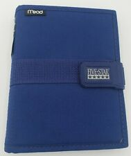 Mead Five Star First Gear Student Day Planner Blue 7 12 X 6 New 2002