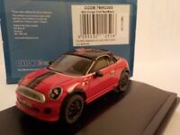 Mini Coupe, Red, Model Cars, Oxford Diecast