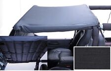 1997-2006 Jeep Wrangler Acoustic Brief Bikini Top Header Insulated Black