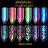 Tin Foil Colorful Nail Glitter Fireworks Laser Dust Mirror Chameleon Nail Powder