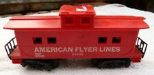 American Flyer Lines 24636 Caboose, C-5, S-Ga, Pikemaster Couplers, Untested,