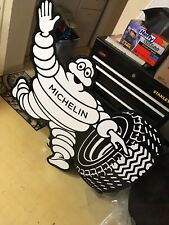 "MICHELIN MAN SIGN JUMBO 45"" Metal Advertising Goodyear Gates QUALITY"