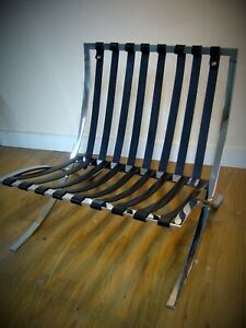 Replacement strap for Barcelona Chair - made to measure