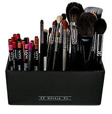 Makeup Brush Holder Organizer Storage Acrylic Cosmetic Box Beauty Travel Case