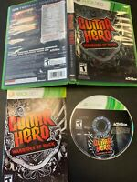 Guitar Hero: Warriors of Rock (Microsoft Xbox 360, 2010) Complete with Manual