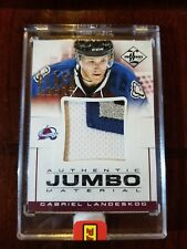 Garbriel Landeskog 2013 Panini Limited JUMBO 3 COLOR PATCH 1/1 Black Box