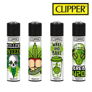 Briquet Clipper - Collection complète briquet clipper x 4 - Slogan 2 W