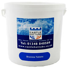 Castlehottubs Bromine Tablets 5Kg Hot Tub Swimming Pool Spa Chemicals