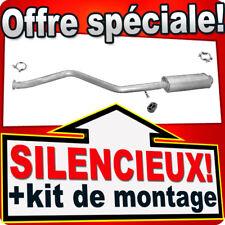 Silencieux Intermédiaire PEUGEOT 306 1.9 D 75/90 PS 2.0 HAYON échappement DEL