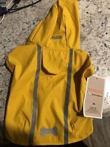 Voyager Small Yellow Pet Raincoat