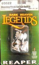 Mousling Pirate, Savage, Duelist, Reaper Miniatures 03522, Figur, Metall, OVP