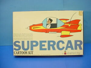 "1962 COLORFORMS TOY ""SUPERCAR CARTOON KIT"" MIKE MERCURY-GERRY ANDERSON"