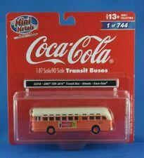 Classic Metal Works CMW Mini Metals GMC TDH 3610 Transit Bus 1/87 Coca Cola OVP
