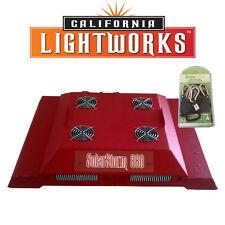 California Light Works Solar Storm 880W LED Grow Light w/ UVB w/ free ratchets