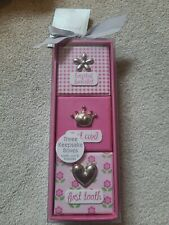 First Impressions Pink Girl Keepsake Set