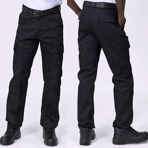 Uneek Work Cargo Combat Trousers Pants Metal Button & Zip Multi Pockets (UC902)