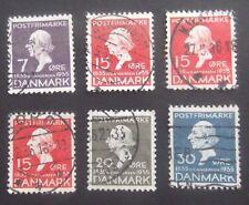 Denmark-1935-Centenary of Hans Anderson's Fairy Tales-Used