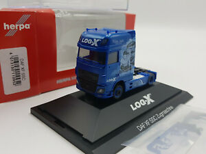 776 Herpa 110952 Log-X The Boxer DAF XF 106 SSC ZM PC Box PC Box