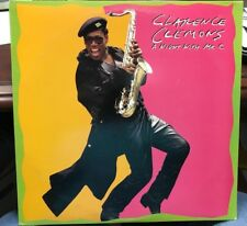Clarence Clemons A Night With MR. C LP 1989 COL FC 40917 INNER DJ PROMO