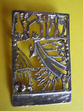 Modernist Designer Brosche, Anhänger JEROEN KRABBE 1999 Silber Niederlande