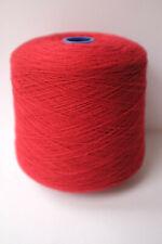 Hinchliffe Lambswool Knitting Yarn Dubonnet Red