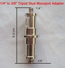 0.6cm to 1cm Trípode Tuerca Monopié Adaptador Spigot MACHO ROSCA Vendedor GB