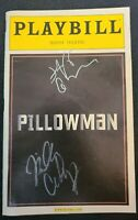 "JEFF GOLDBLUM+BILLY CRUDUP SIGNED ""PILLOWMAN"" BROADWAY PLAYBILL W/COA+PROOF RARE"
