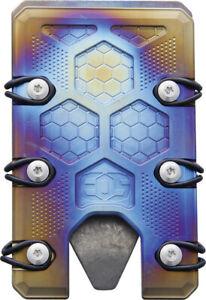 EOS 2.5 Card & Money Minimal Wallet Flame Anodized Titanium Body Multi-Tool WAL2