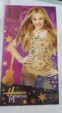 11 Today  Hannah Montana Birthday Card Quality Undercover Popstar